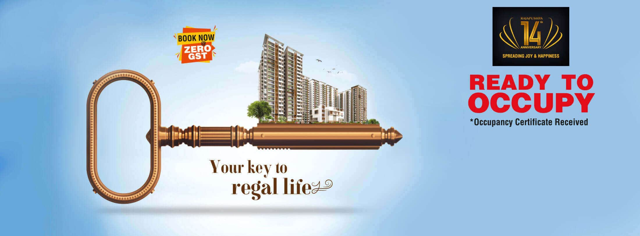 rajapushpa regalia - gated community apartments in hyderabad