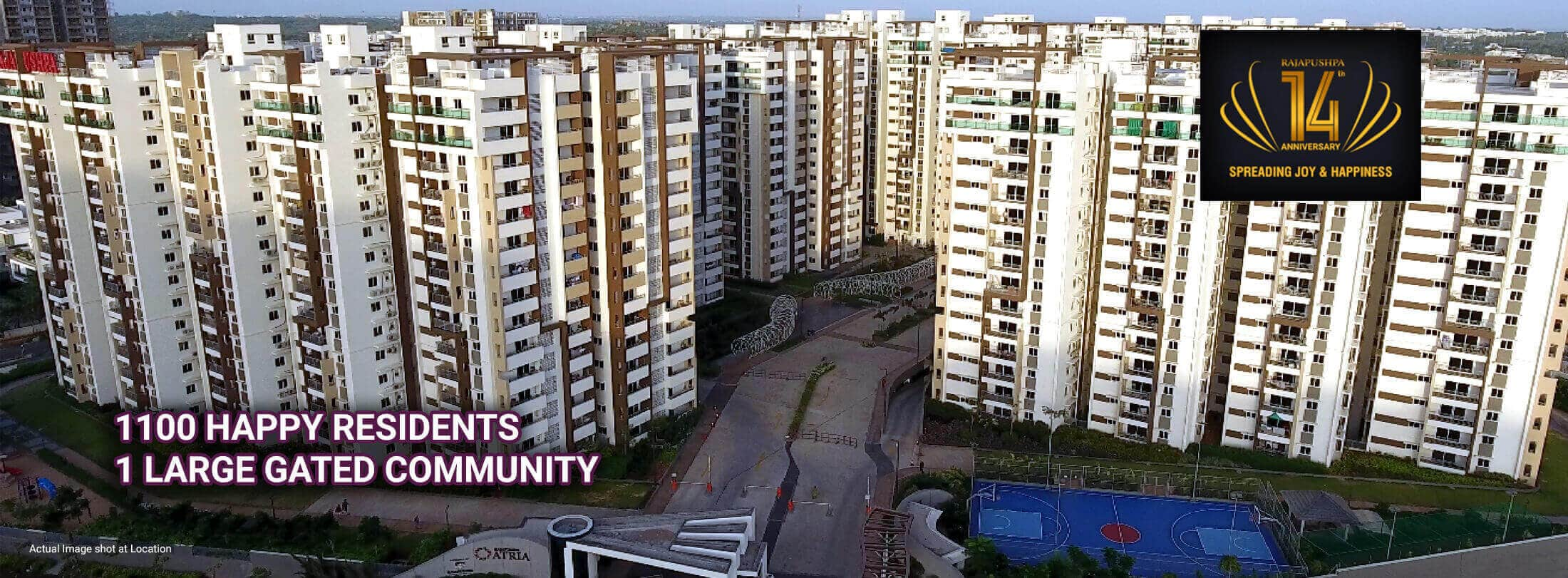 rajapushpa atria - apartments in hyderabad