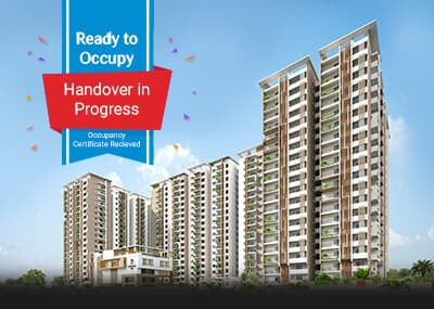 ready to occupy apartments in hyderabad
