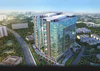 rajapushpa west avenue commercial property in hyderabad